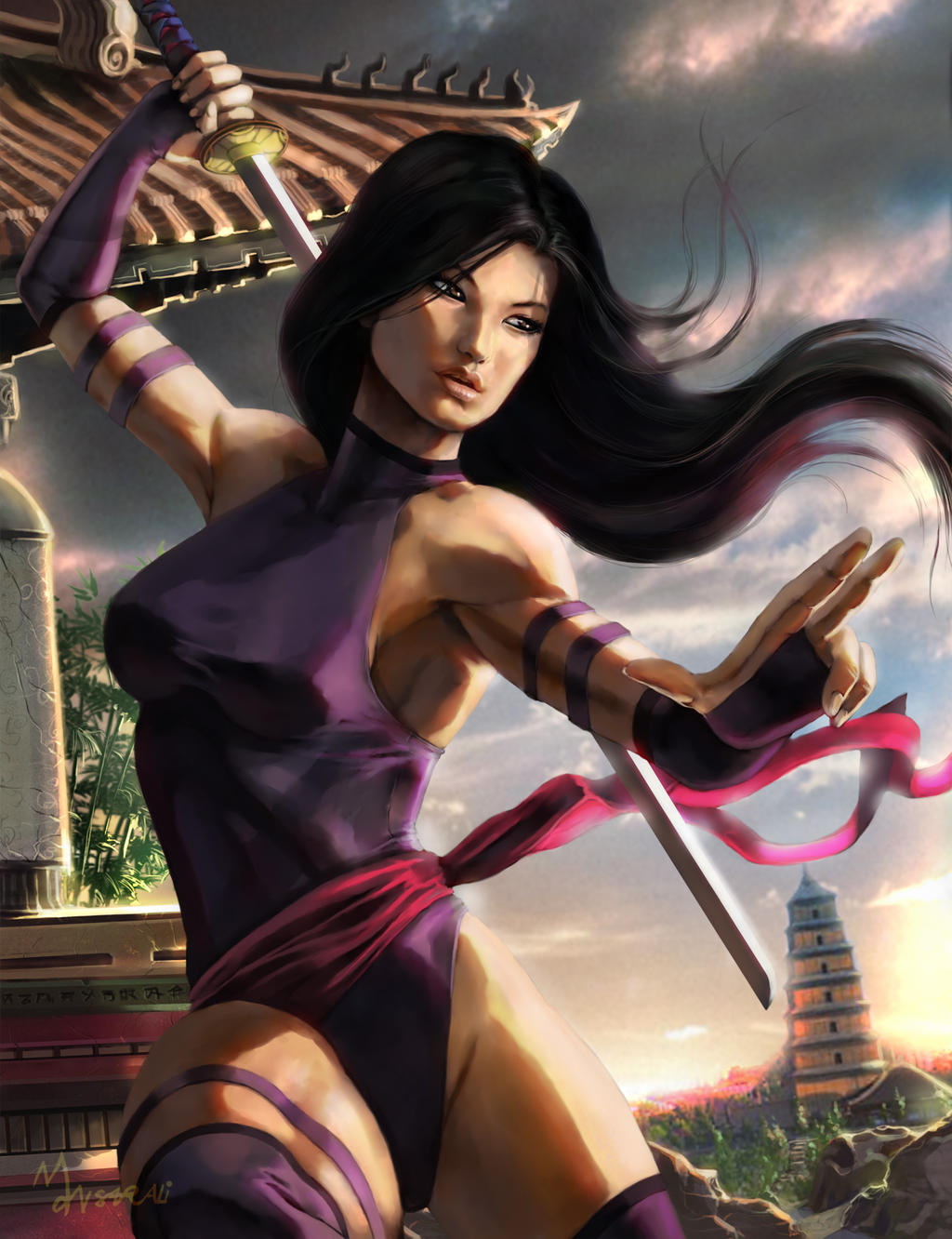 Marvel Psylocke Art Like for - Psylocke Art -