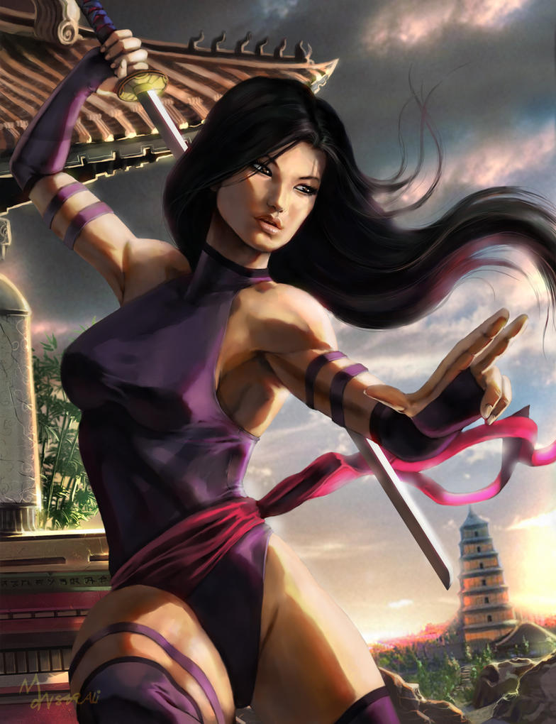 Psylocke - Classic by mansarali