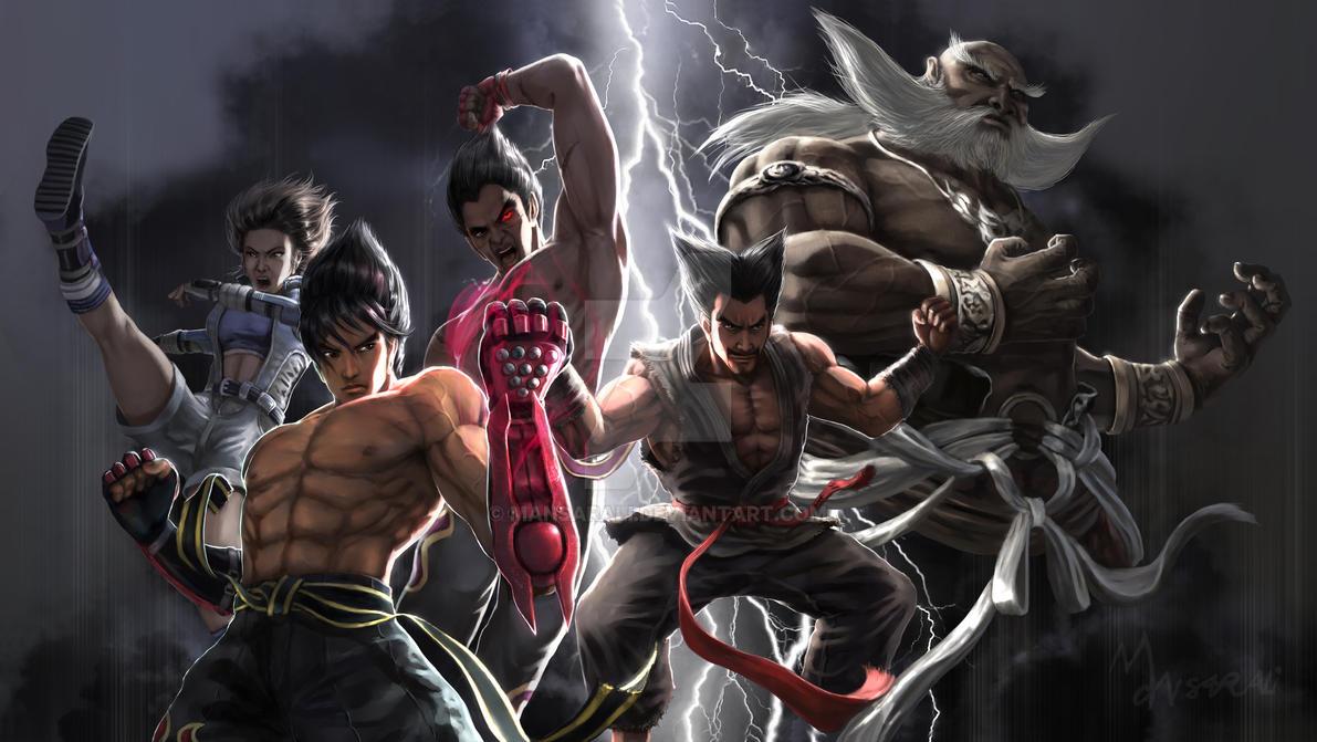 We Are Tekken by mansarali
