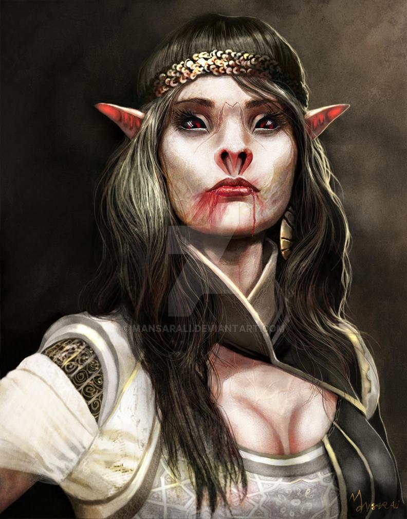 Vampiress Nesfarati by mansarali