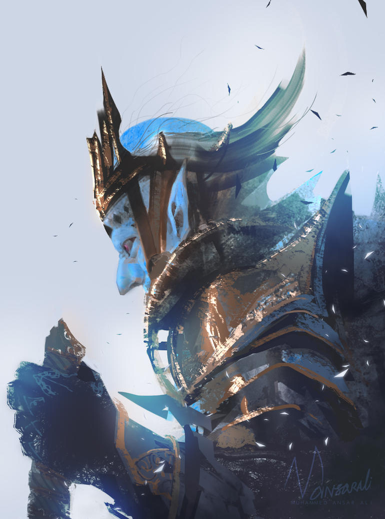 Goblin King Concept by mansarali