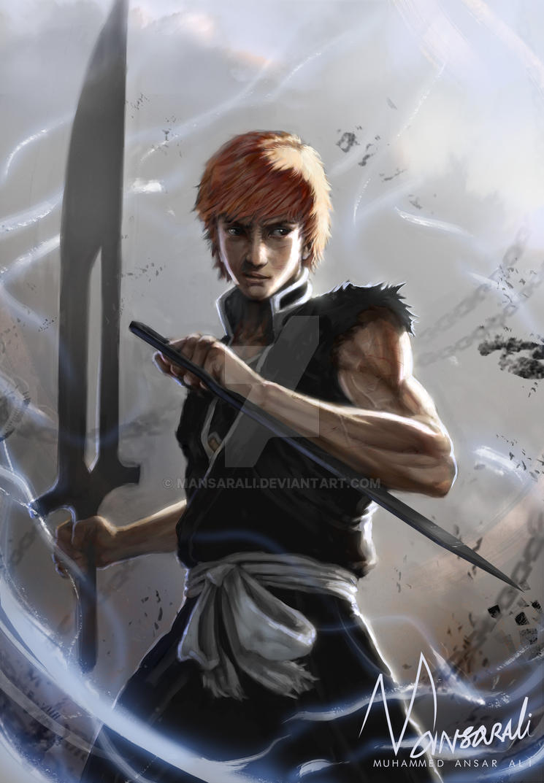 Ichigo - Dual wield Zanpakutos by mansarali