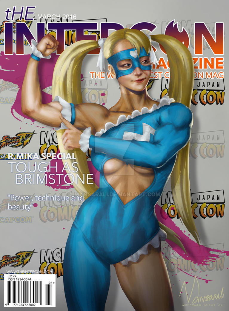 Rainbow Mika - SFV Intercon Magazine by mansarali