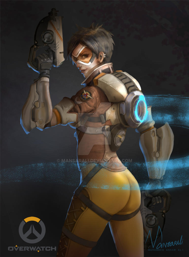 Tracer Overwatch by mansarali