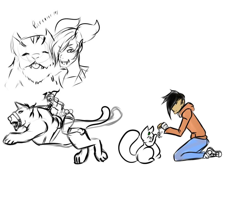 Ruko n' a Kitty by GamingHunter