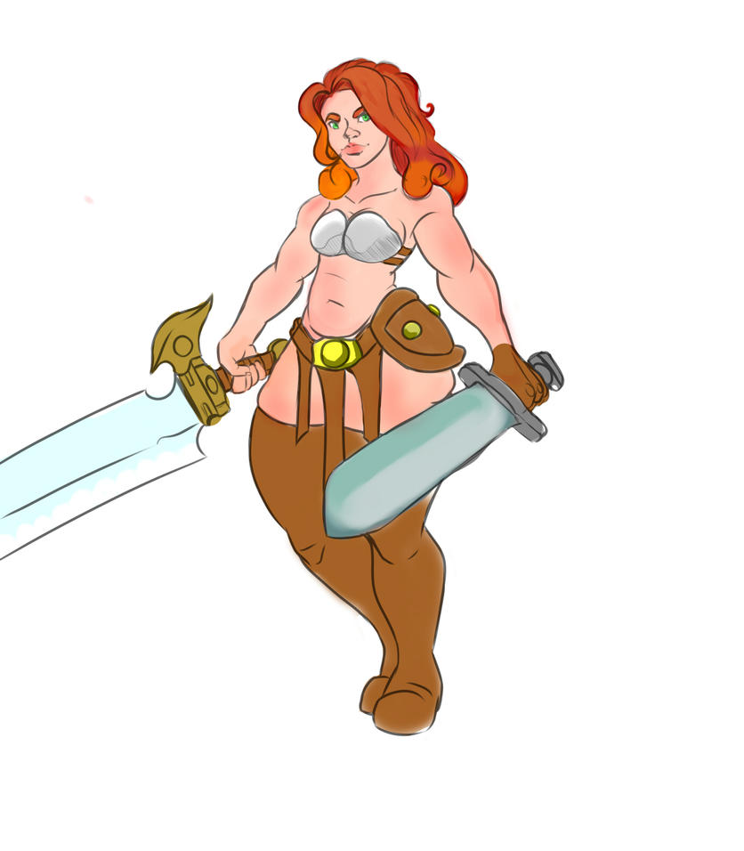 Poppy the Barbarian by GamingHunter
