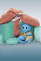 Squirtle playing - Good old times