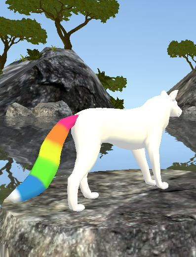 Feral Heart: FeralHeart: Rainbow Tail By GutsOpossum On DeviantArt