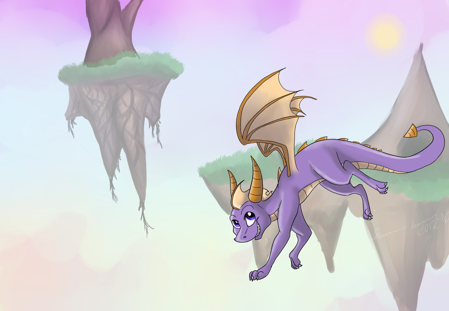 Spyro: Floating Isles by Wyndon-Torque
