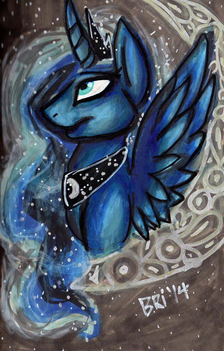 MLP: Darling Luna by Wyndon-Torque