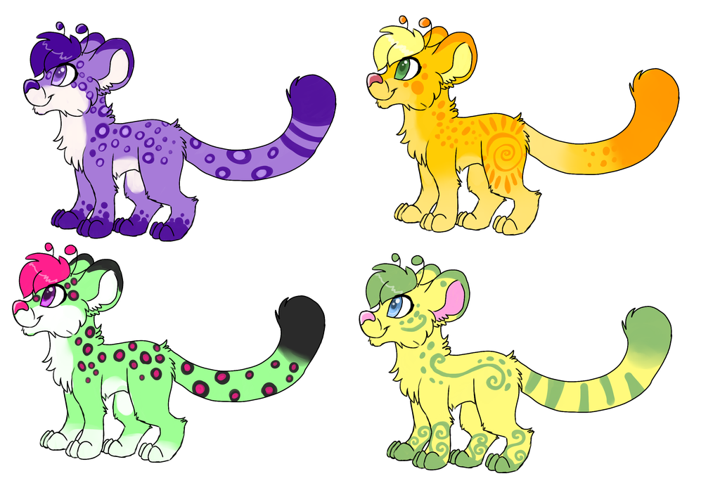 $5 Pixie Jaguar Adopts by GutsOpossum