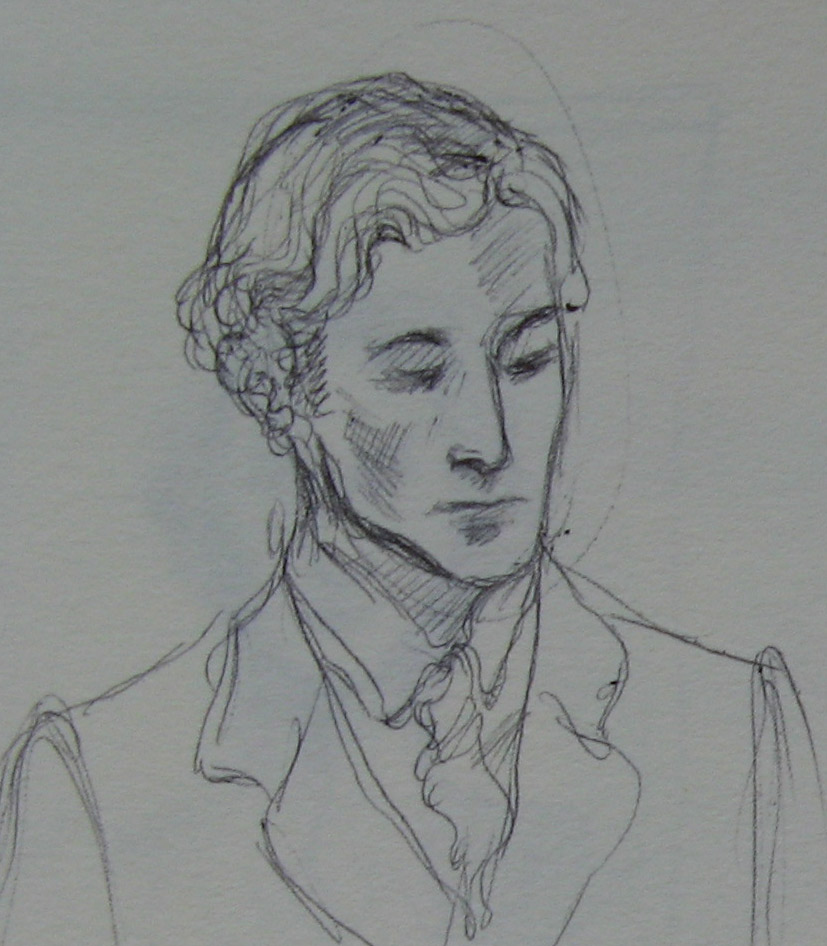 Lord Alfred Douglas - sketch I by Cassiuseos
