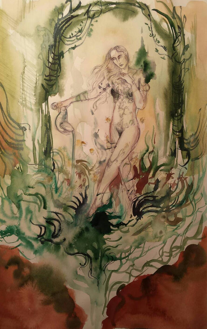Goddess of the Secret Garden by Cassiuseos on DeviantArt