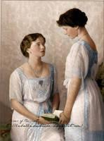 Sisters . by La-Bella-Devotchka