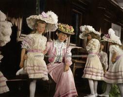 Princesses with their aunt . by La-Bella-Devotchka