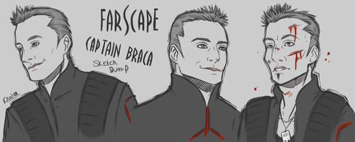 Farscape Sketches by Centauri-Works