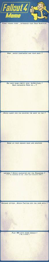 Fallout 4 Meme - Blank
