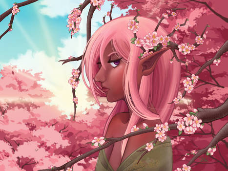 Dryad Project: Cherry Blossom