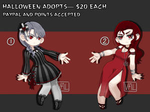 [2/2 OPEN] Vampire Girl Adopts [PAYPAL OR POINTS]