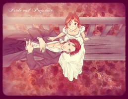 Elizabeth and Darcy by NancySauria
