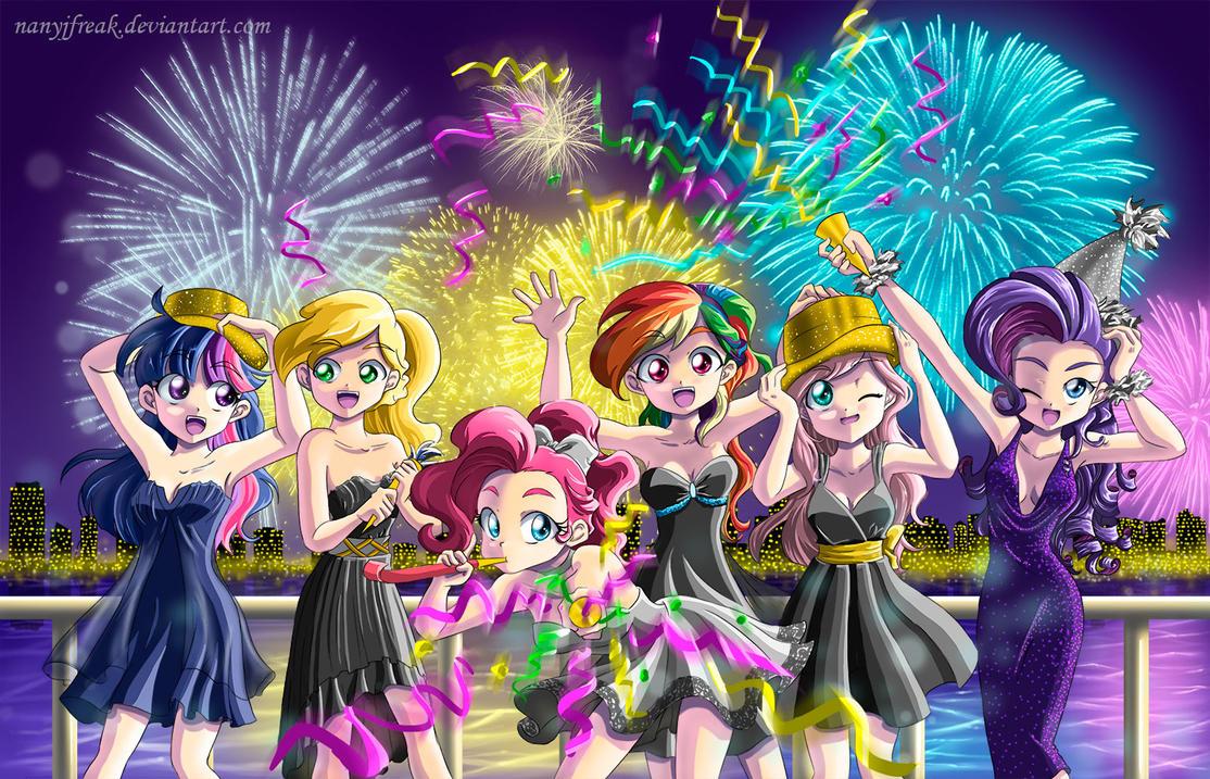 Happy New year by NanyJfreak