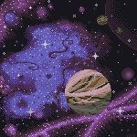 150x150 Space Scene by MomentaryUnicorn