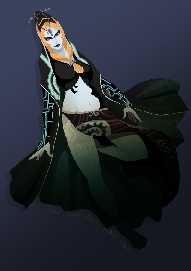 Midna by Paper-Plate