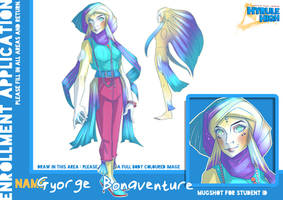 [Hyrule High]  Gyorge Bonventure by Paper-Plate
