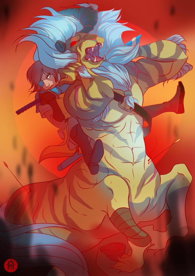 Lynel battle