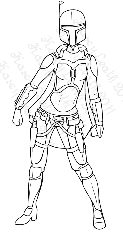 Mandalorian Female Armor 1 by Atroxa