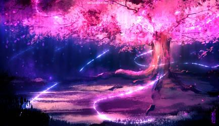 Soul Gathering Tree by MCilustracion
