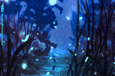 Magical journey - Night version by MCilustracion