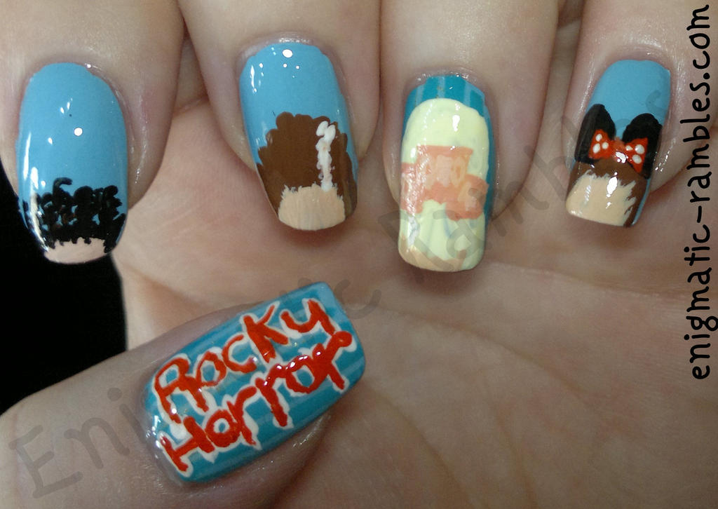 Rocky horror show nails by enigmaticrambles on deviantart rocky horror show nails by enigmaticrambles prinsesfo Image collections