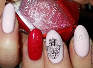 Hamsa Hand Nails