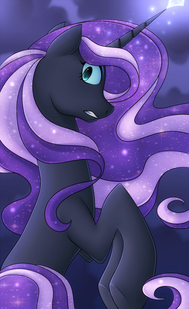 Art of the NIGHT by Stalkerpony