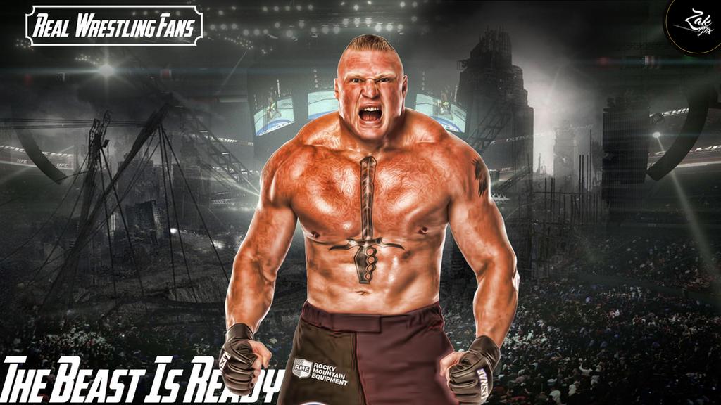 Brock Lesnar Wallpaper By Zafeeralikhan