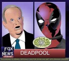 Bill O'Reilly meets Deadpool by ProjectCornDog