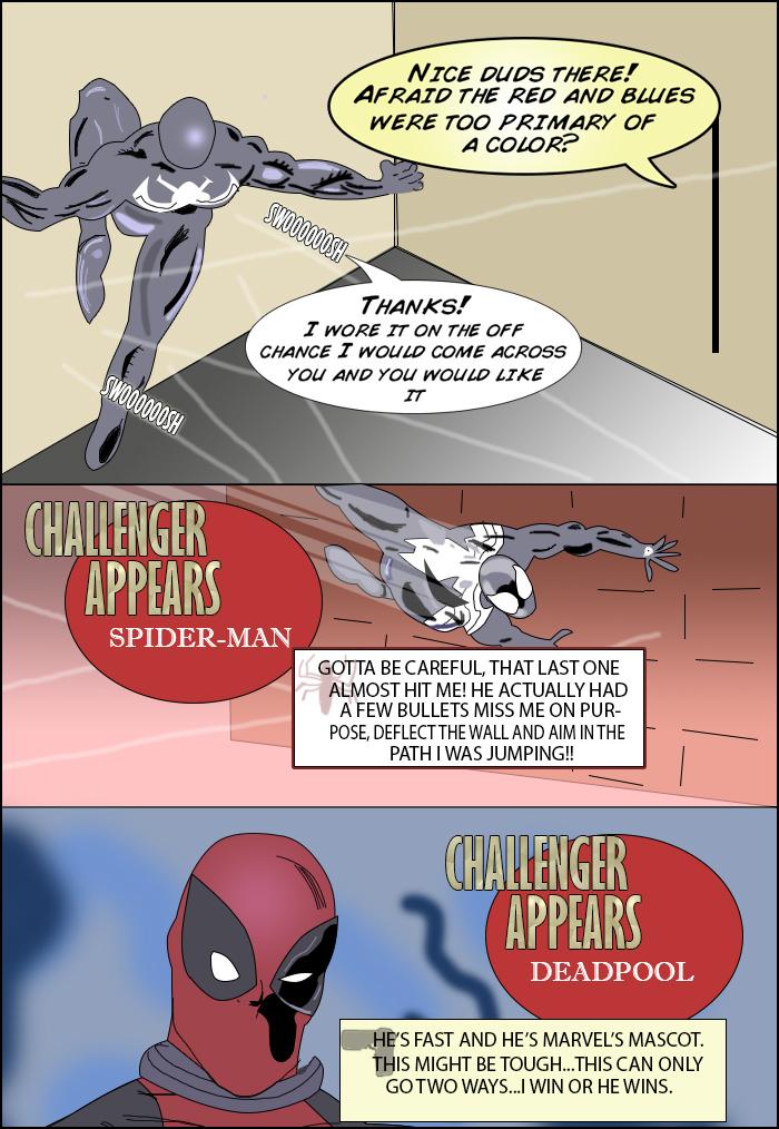 Deadpool Vs Spider Man Pg