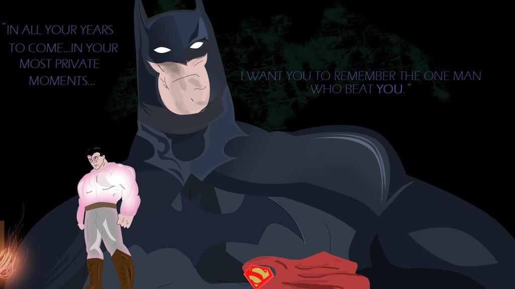 Private Moments (SUPERMAN VS BATMAN) by ProjectCornDog
