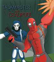 TASKMASTER and DEADPOOL Issue 1 Cover by ProjectCornDog