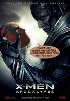 X-Men Apocalypse/Deadpool Movie Poster by ProjectCornDog