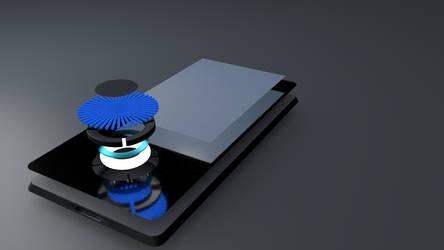 iPod 3-D model Work In Progress by ProjectCornDog