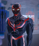 Miles Morales Redesign (Adult Spider-Man) W.I.P