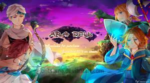 Promotional art: Ara Fell on steam by mameshii