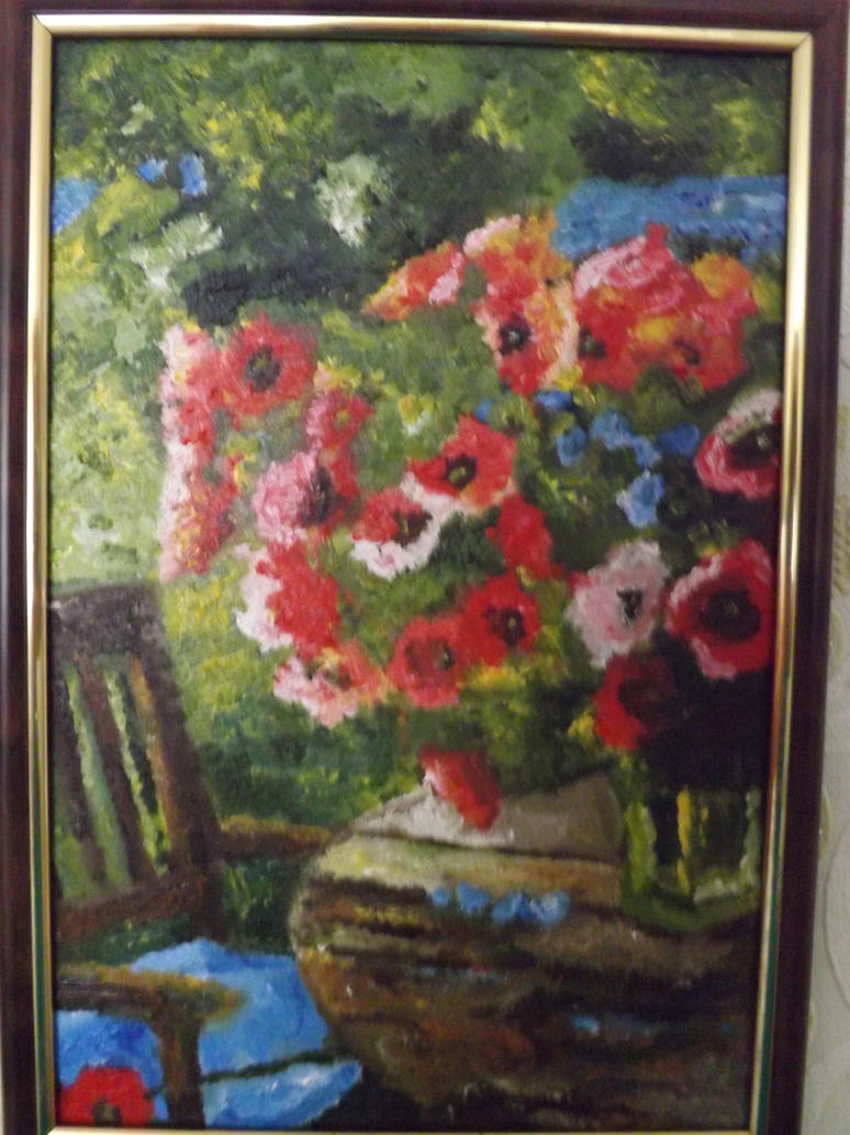Drawing on glass oil paint by izenemi on deviantart for How to paint glass with oil paint