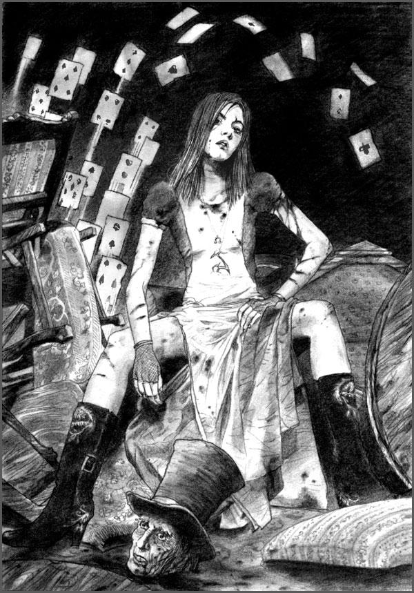 Alice - Thy Kingdom Coma by kurotokage