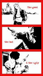 The Good the Bad the Ugly by kurotokage