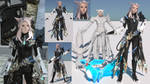 FFXIV Character extracted to Blender