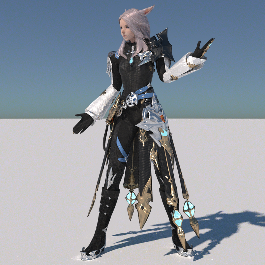 View character ffxiv mining