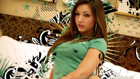 green tshirt misa wp psp by molimonster